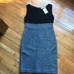 NWT Anthropologie Sparrow Houndstooth Dress